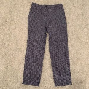 Patterned Work Pants